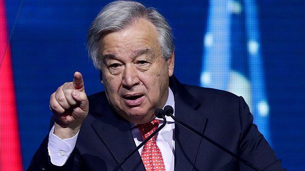 ENSZ-főtitkár: most kell tenni az éghajlatváltozás ellen, ez a jelen legsürgetőbb ügye