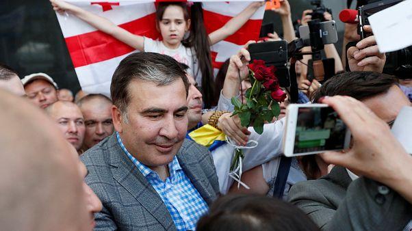 Mikheïl Saakachvili de retour en Ukraine grâce au nouveau président