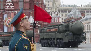 عرض عسكري في موسكو بمناسبة ذكرى انتصار الاتحاد السوفيتي على النازيين