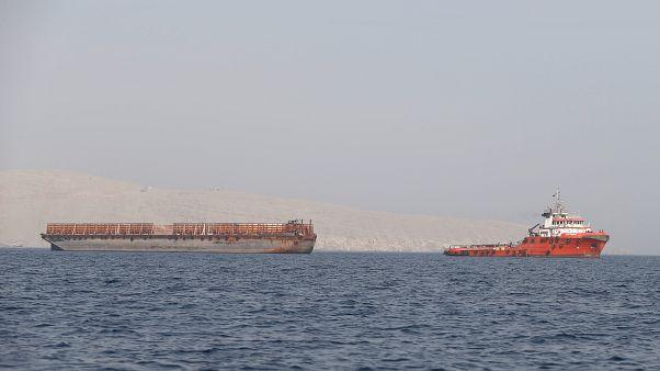 شحنات تجارية في الخليج
