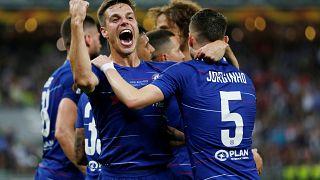 Hazard da al Chelsea una Europa League con sabor a despedida