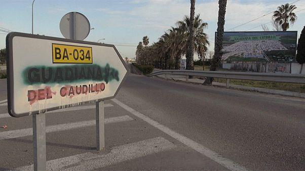 """Guadiana bald ohne """"Caudillo"""": Dorf trennt sich von Franco-Erbe"""