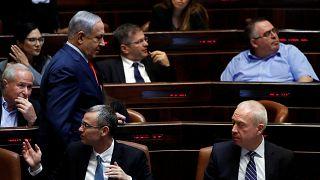 İsrail'de hükümet kurulamadı iki ay sonra yeniden seçim kararı alındı