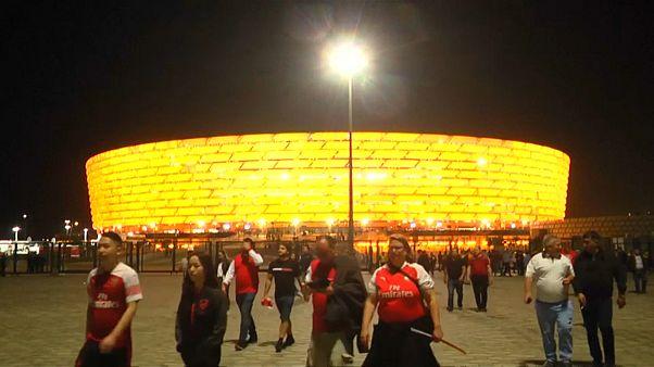 Szurkolói öröm és bánat az Európa-Liga döntője után