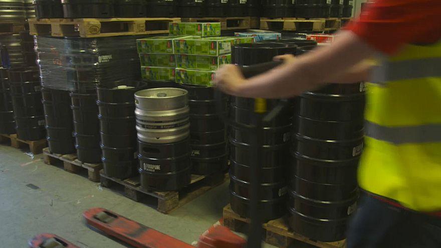 Deutsche Bierfässer geraten in Handelskrieg USA-China
