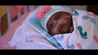 Groß wie ein Apfel, 245 gr leicht: Baby gewinnt Kampf ums Überleben