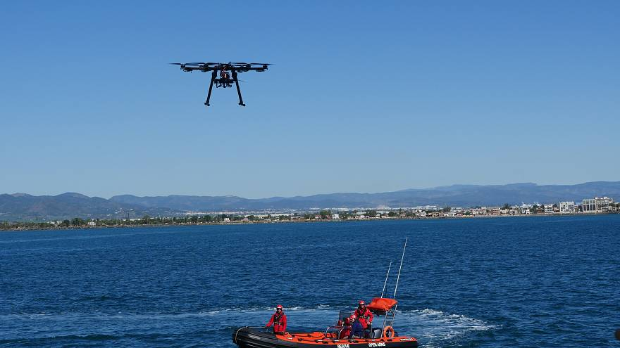 Could this drone help save migrant lives in the Mediterranean?