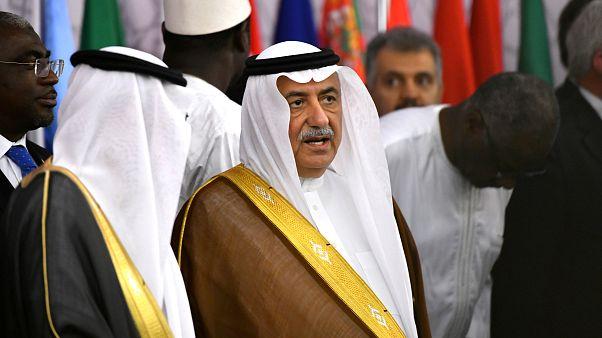 وزير الخارجية السعودي إبراهيم العساف في جدة 29 مابو 2019