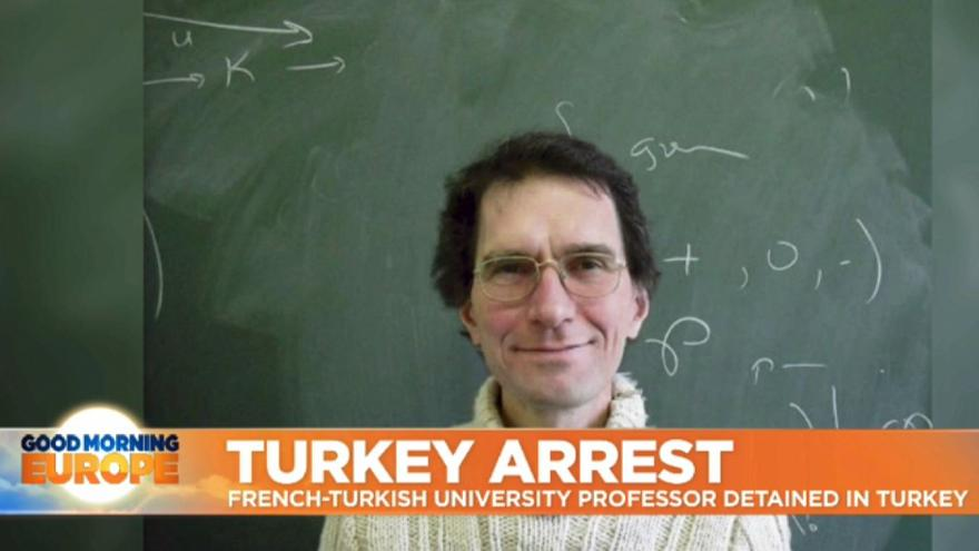 Calls grow for release of French academic who is being held in Turkey