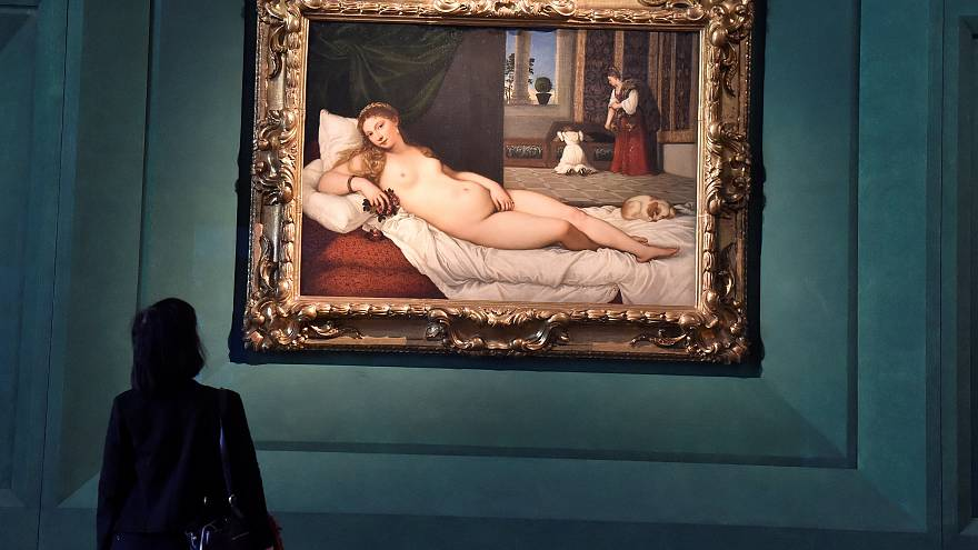 """""""Venus de Urbino"""" de Tiziano"""