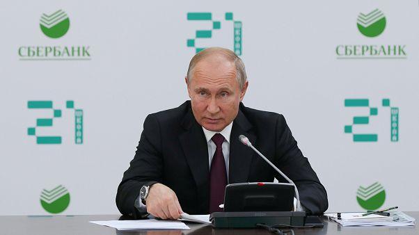 """Putin: """"Yapay zeka alanında tekelleşen dünyayı yönetir"""""""