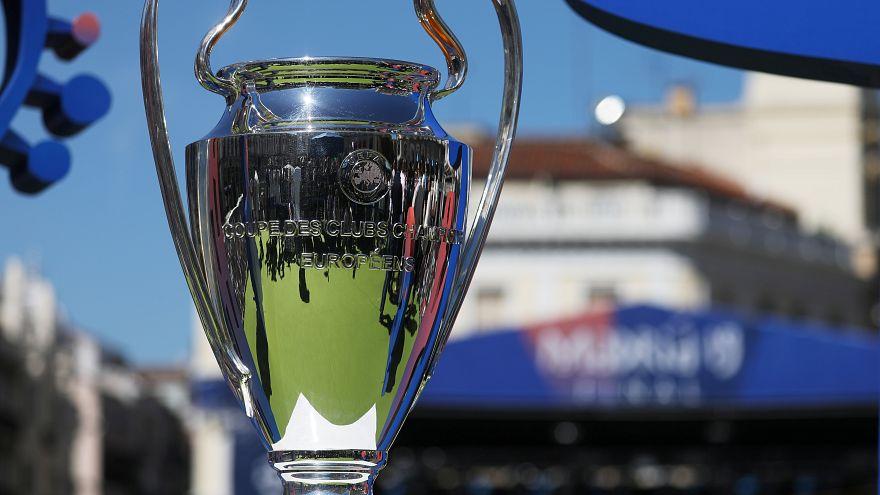 Fußballparty in Madrid: Fans feiern in Vorfreude auf das Champions-League-Finale