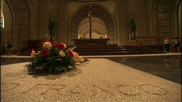 Acondicionan la nueva cripta de Franco