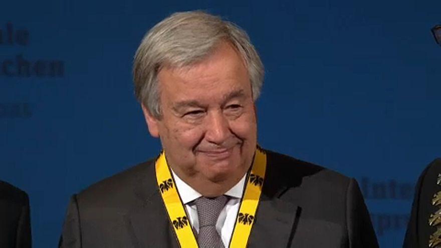 """Guterres: """"Necesitamos una Europa unida y fuerte para evitar otra Guerra Fría"""""""