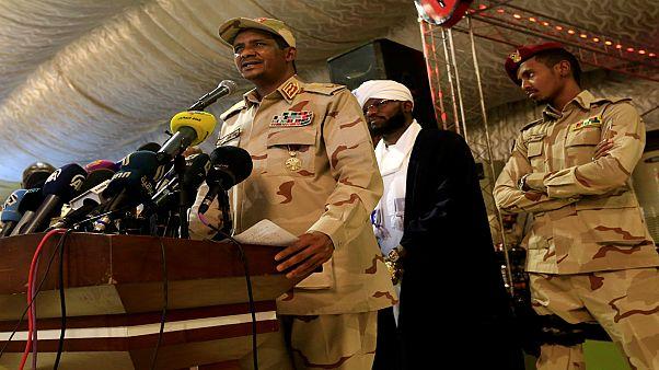 اللواء محمد حمدان دقلو، قائد قوات الدعم السريع ونائب رئيس المجلس العسكري