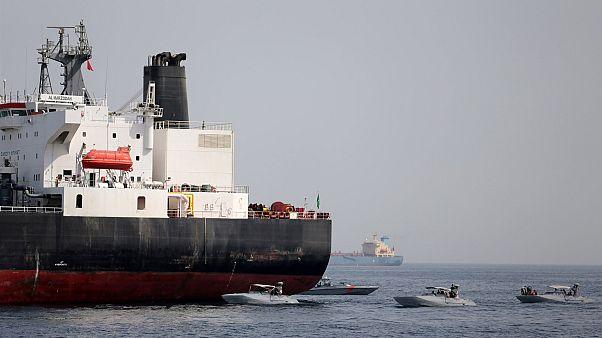 Saldırıya uğradığı belirtilen gemi