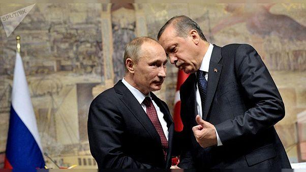 Cumhurbaşkanı Erdoğan, Putin ile görüştü: İdlib'de ateşkes sağlanmalı