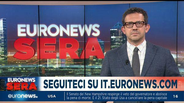 Euronews Sera TgG Europeo, edizione del 30 maggio 2019