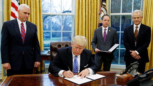 Trump ameaça México com tarifas sobre a importação
