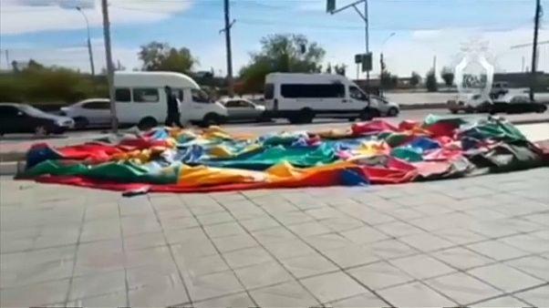 Опасный аттракцион в Улан-Удэ: шестеро детей в больнице