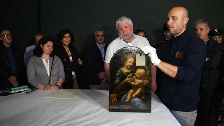 """Torna ad essere esposta in Italia dopo 35 anni la """"Madonna Benois"""" di Leonardo da Vinci"""
