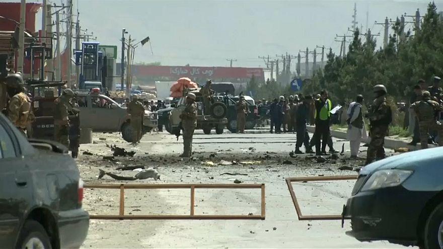 Tote und Verletzte nach Anschlag auf US-Konvoi in Kabul