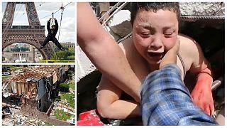 ویدئوهای بدون شرح هفته؛ از گردباد در آمریکا تا نجات کودک سوری از زیر آوار