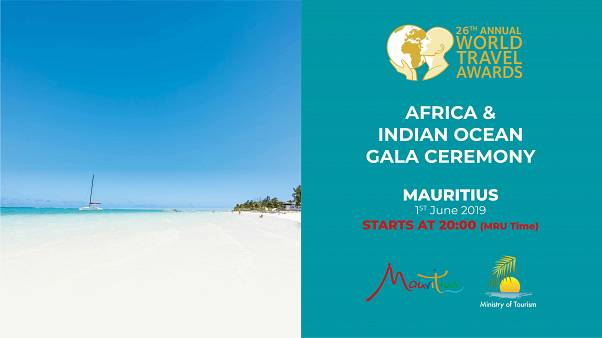 Watch live: The World Travel Awards Africa & Indian Ocean Gala Ceremony takes place in Mauritius