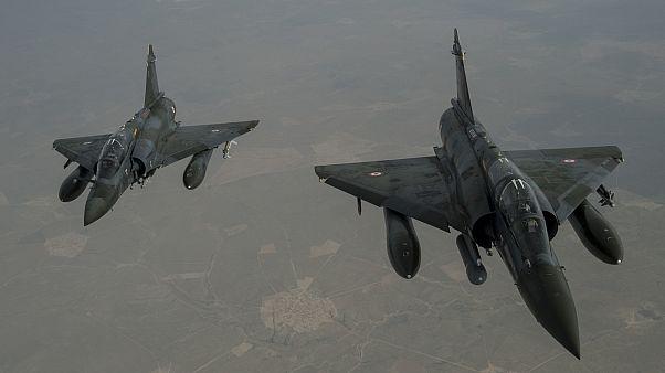 طائرات أمريكية تابعة للتحالف الدولي العاملة في سوريا والعراق
