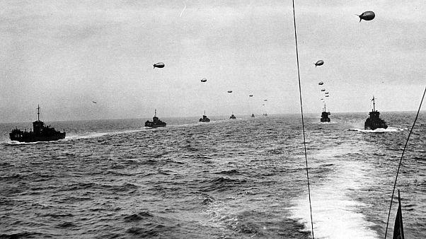 75e D-Day : 6 939 navires à l'horizon, les chiffres fous du Débarquement