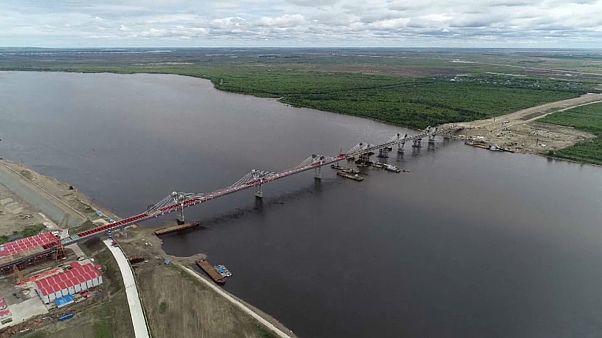 Мост через Амур свяжет РФ и КНР