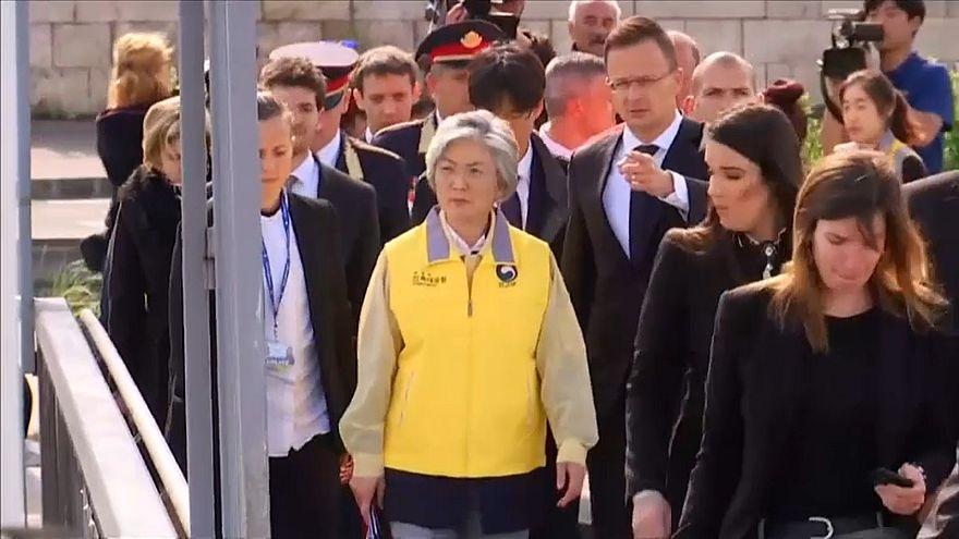 Schiffsunglück: Südkoreanische Außenministerin in Budapest