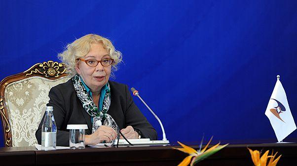 С 2012 г Валовая состояла в руководстве Евразийского экономического совета