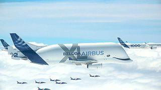 """شاهد: """"إيرباص"""" لصناعة الطائرات تحتفي بخمسينيتها بعيدا عن الأبهة"""