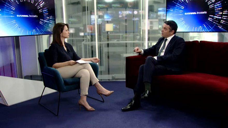 Ντιμιτρόφ στο euronews: Βλαπτικό για την ΕΕ τυχόν «όχι» στη Β. Μακεδονία