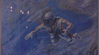 شاهد: ألكسي ليونوف.. رائد فضاء بطل ورسام