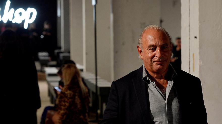 Philip Green faces charges in the US