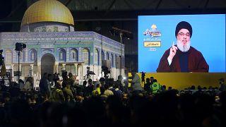 """نصر الله: نعمل على إفشال صفقة القرن وفي حال شن الحرب ضد إيران ستدفع """"إسرائيل وآل سعود"""" الثمن"""