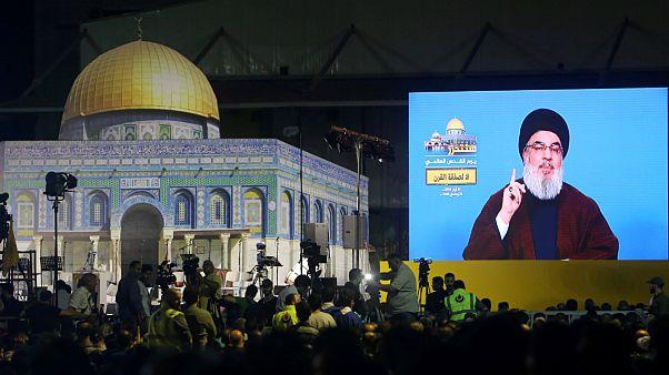 حسن نصرالله: آمریکا میداند که جنگ محدود به مرزهای ایران نمیشود