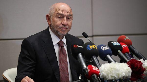 Tek aday Nihat Özdemir, Türkiye Futbol Federasyonu yeni başkanı seçildi