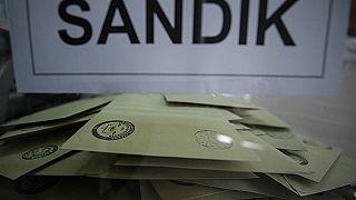 Yerel seçimleri iptal edilen 3 ilçe ve 1 beldede seçmen sandık başında