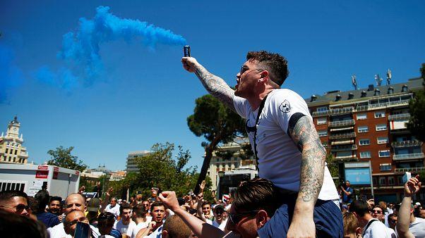Miles de británicos esperan con impaciencia la final de la Champions, que se juega en Madrid