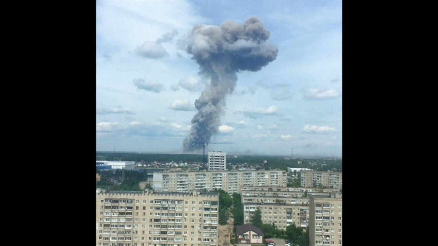 Russland explosion