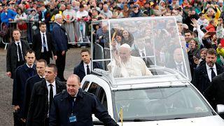 Histórica visita papal al santuario rumano de Şumuleu Ciuc