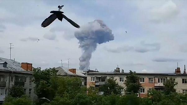 Rusya'da mühimmat fabrikasında patlama: 79 yaralı