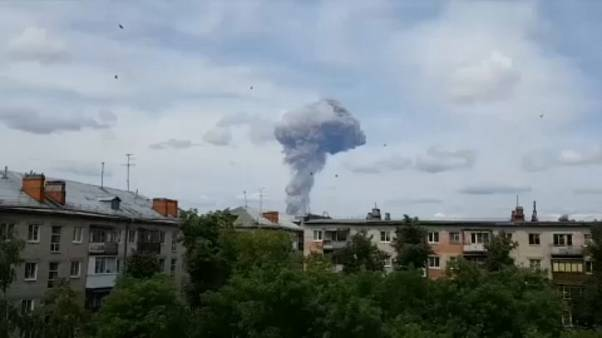 Russie : déflagrations dans une usine d'explosifs, des blessés