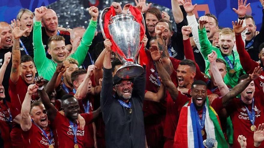 Bajnokok Ligája: liverpooli öröm a döntő után