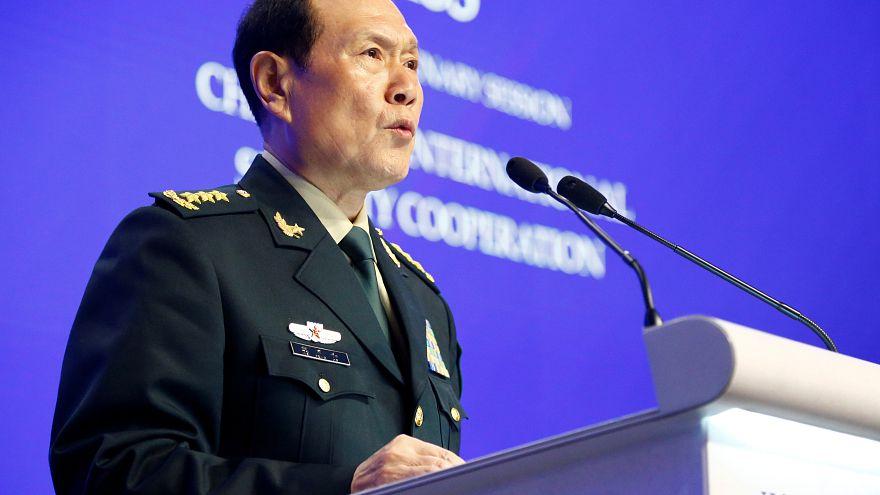 وزير الدفاع الصيني