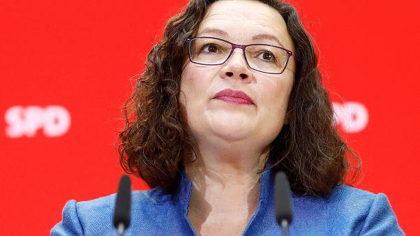 Germany's Social Democrats seek leader after Nahles' surprise resignation