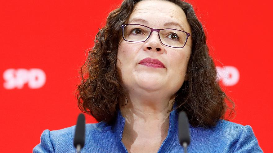 Germany's Social Democrats seek leader after Nahles' surprise resignation